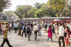Bombay street scene Stock Images