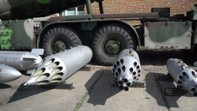 Bombe aeree di formazione video d archivio
