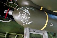 Bombe avec la livraison spéciale pour Adolf Photos stock