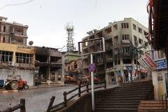 BOMBE DANS REYHANL?, HATAY Image stock