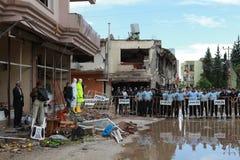BOMBE DANS REYHANL?, HATAY Images libres de droits