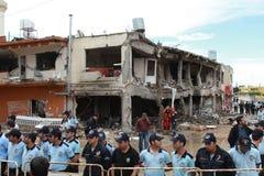 BOMBE DANS REYHANL?, HATAY Image libre de droits