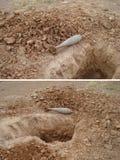 Bombe de guerre photographie stock libre de droits