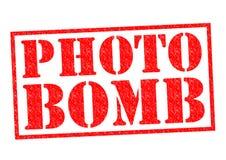 Bombe de photo Images libres de droits