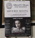 Bombe: Hedy Lamarr Story lizenzfreies stockfoto