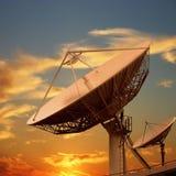 bombe le satellite Photos libres de droits