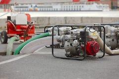 Bombeamento da água Fotografia de Stock