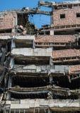 Bombed building in Belgrade Stock Photography
