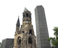Bombed church, Berlin Stock Images