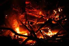Bomben-Feuer Stockfotografie