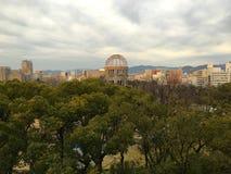 Bomben-Haube in Hiroshima Japan Lizenzfreie Stockbilder