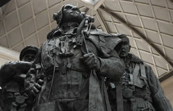 Bomber Command Memorial, Green Park, London Royalty Free Stock Photo