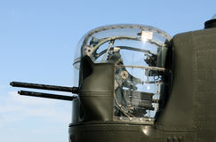 Bomber nose gund Stock Photo