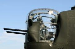 Bomber nose gund stock photo