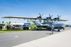 Bomber-, Untersuchungs- und Seenotrettungsdienstflugboot, Dornier tun amphibisch moderne Replik 24ATT lizenzfreie stockbilder