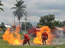 bombero Imagen de archivo libre de regalías