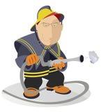 bombero Imagen de archivo