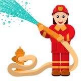 bombero libre illustration