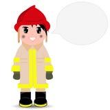bombero Imagenes de archivo