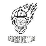 Bombero Logo Nuevo Glasgow Fire Department Imagen de archivo libre de regalías