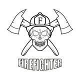 Bombero Logo Nuevo Glasgow Fire Department Foto de archivo libre de regalías