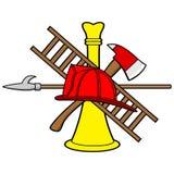 Bombero Symbol Foto de archivo libre de regalías