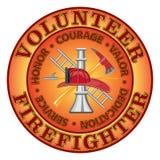 Bombero voluntario Courage libre illustration