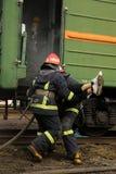 bomberos Fotografía de archivo libre de regalías