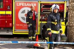 bomberos Fotos de archivo libres de regalías