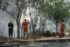 bomberos Imagenes de archivo