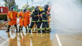 bomberos Imagen de archivo libre de regalías