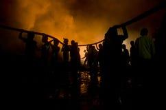 BOMBEROS INDONESIOS Fotos de archivo