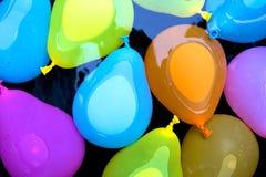 Bombes de flottement de l'eau Photo libre de droits