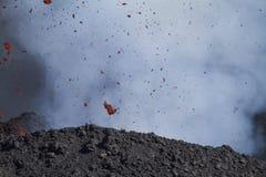 Bombes volcaniques de détail Photographie stock libre de droits