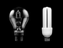 Bombilla ahorro de energía Imagen de archivo