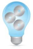 Bombilla de la innovaci?n Foto de archivo libre de regalías