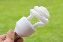 Bombilla fluorescente Imagen de archivo libre de regalías