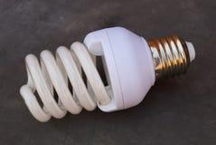 Bombilla fluorescente ahorro de energía Imagen de archivo libre de regalías