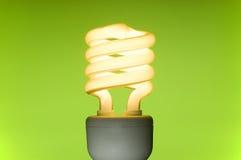 Bombilla fluorescente ahorro de energía Imagen de archivo
