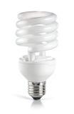 Bombilla fluorescente ahorro de energía Fotografía de archivo libre de regalías