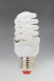 Bombilla fluorescente compacta ahorro de energía Imagen de archivo libre de regalías
