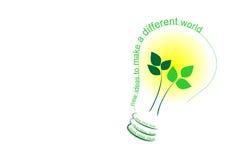Ideas de la ecología Imágenes de archivo libres de regalías