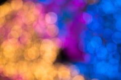 Bombillas mucho color Fotografía de archivo