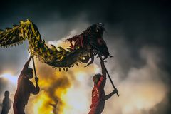 Bombing the Dragon 2015 Stock Photography