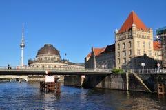 Bomblowanie rzeka, Berlin, Niemcy zdjęcie royalty free