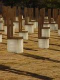 bombningstadsminnesmärke oklahoma arkivbilder