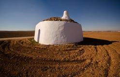 Bombo from Tomelloso. La Mancha, Spain. Traditional stone dome house called Bombo from Tomelloso, Castilla La Mancha, Spain Royalty Free Stock Image