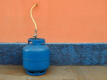 Bombola per gas della cucina Immagine Stock Libera da Diritti