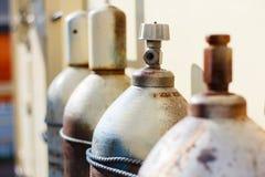 Bombole a gas Immagini Stock Libere da Diritti