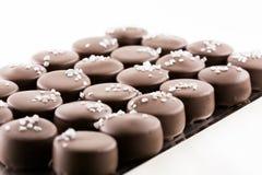 Bombon del cioccolato Fotografie Stock